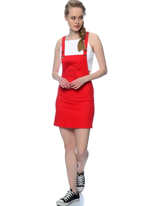 Black Pepper Elbise Kırmızı